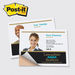"""Post-it&reg Poster Paper - 4"""" x 5"""" Adhesive with Full Color Printing"""