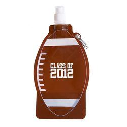 Football Theme Flat, Foldable Water Bag