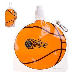 Basketball Theme Flat, Foldable Water Bag