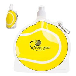 Tennis Theme Flat, Foldable Water Bag