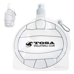 Volleyball Theme Flat, Foldable Water Bag