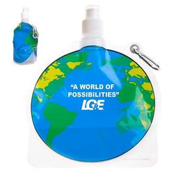 Global Theme Flat, Foldable Water Bag