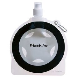 Tire Theme Flat, Foldable Water Bag