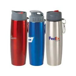 16 oz Double-Wall Stainless Steel Insulated Tumbler/Water Bottle Includes two Different Spill-Proof Lids !