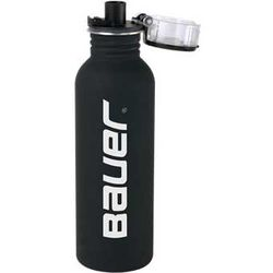 25 oz Stainless Steel Water Bottle with a Retail-Look Matte Rubberized Finish