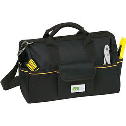 Durable and Water Resistant Professional Contractor Bag with Plenty of Storage Pockets