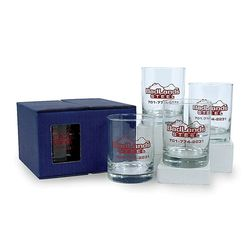 13.5 oz Double Old-Fashioned Glass Set  (4)