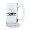 12 oz Glass Beer Stein
