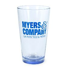 16 oz Neonware Spray Bottom Pint Beer Glass