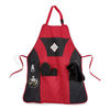 Grill Master Apron Kit Includes Bottle Opener, Oven Mitt, Towel, and Plenty of Pocket Space