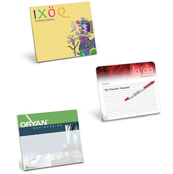With our RECYCLED Notepaper Mouse Pad You'll Never Search for Scratch Paper Again!