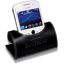 Leather Mobile Device Holder (Mails Flat!)