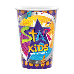 20 oz. COLD Souvenir PAPER Cups with Full-Color Printing