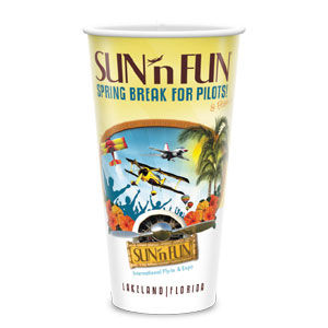 32 oz. COLD Souvenir PAPER Cups with Full-Color Printing