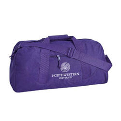 "23"" Recycled Polyester Duffel Bag in a Wide Variety of Colors"