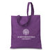 "14"" x 15"" Colorful Eco-Friendly Tote Bag Made from 50% Post-Consumer Recycled Materials"
