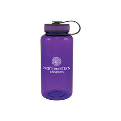 34 oz Dishwasher-Safe Wide-Mouth  Water Bottle  (BPA-Free)