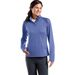 Ladies' Moisture-Wicking EXTRA Stretchy Fitness 1/4 Zip Pullover
