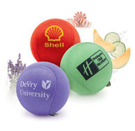 Aroma Gel Stress Ball with Lycra Cover Diffuses Scent When Squeezed