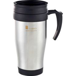 14 oz. Stainless Steel Java Stainless Mug with Plastic Liner