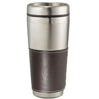 16 oz. Cutter & Buck® American Classic Leather Tumbler with Stainless Steel Liner