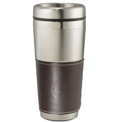 16 oz. Cutter & Buck&reg American Classic Leather Tumbler with Stainless Steel Liner