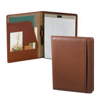 Letter-Size Cutter & Buck® Leather Writing Pad