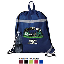 "16"" x 20"" Non-Woven Therm-o-Backpack with Full-Color Printing"
