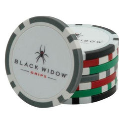 Regulation Weight Poker Chips/Ball Markers - RUSH SERVICE, Limited Color Selection