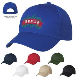 6-Panel Super Lightweight Polyester Cap