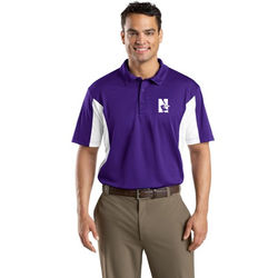 Men's Moisture-Wicking Polo with Side Blocks (Better)
