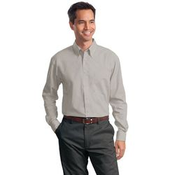 Men's Value Long Sleeve Poplin Shirt (Good)