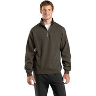 Men's Pullover Sweatshirt with Zipper