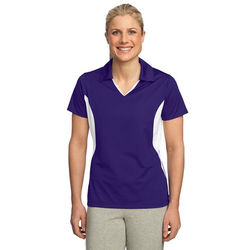 Ladies' Moisture-Wicking Polo with Side Blocks (Better)