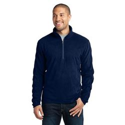 Men's Half-Zip Microfleece Pullover