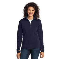 Ladies' Half-Zip Microfleece Pullover