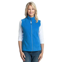 Ladies' Full-Zip Microfleece Vest