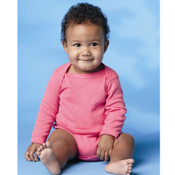 Infant Long Sleeve Lap Shoulder Creeper