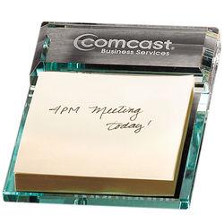 Glass Message Pad Holder