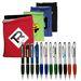 Tech Gift Set 2 - Stylus/Ballpoint Pen and Polyester Fleece Tablet Sleeve