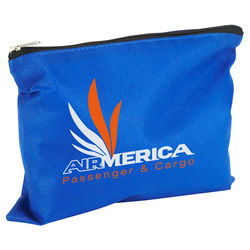 Non-Woven Zippered Utility Pouch