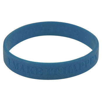 Silicone Wristband with Laser Engraved Messaging