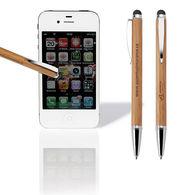 Bamboo Ballpoint Stylus Pen (Separate Tips)