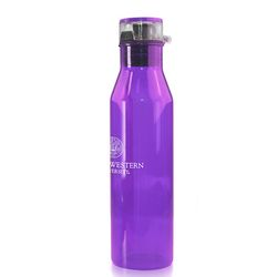 26 oz Plastic Water Bottle Shaped Like Vintage Milk Bottle
