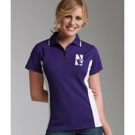 Charles River® Ladies' Color Blocked Moisture-Wicking Polo
