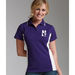 Ladies' Color Blocked Moisture-Wicking Polo
