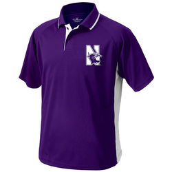 Men's Color Blocked Moisture-Wicking Polo