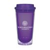 16 Oz. Double-Wall Acrylic Tumbler with Screw-On/Sip Through Lid