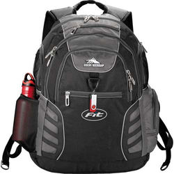 "High Sierra&reg Deluxe Compu-Backpack  Holds 17"" Laptops"