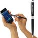 Dual Ballpoint Stylus Pen Works with iPhone/iPad Touch Screens (Separate Tips)